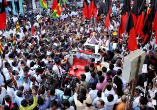 DMK's Stalin campaigns for party candidate ahead...