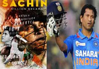 Sachin: A Billion Dreams trailer out - India TV