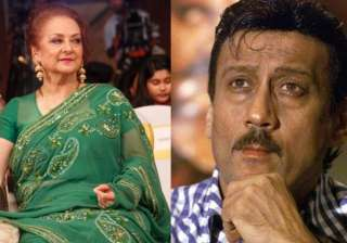 Saira Banu and Jackie Shroff - India TV