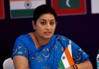 Four detained after Smriti Irani alleges they...