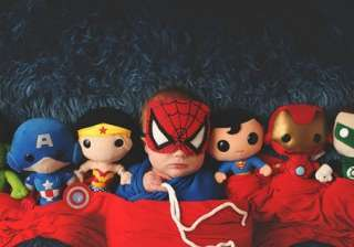 Do you know why babies love superheroes? This is...
