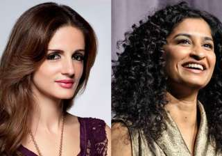 Sussanne Khan and Gauri Shinde