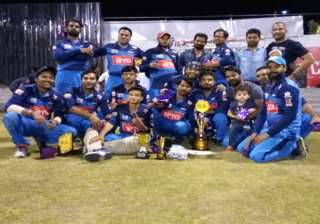 India TV crowned media cricket champion - India TV
