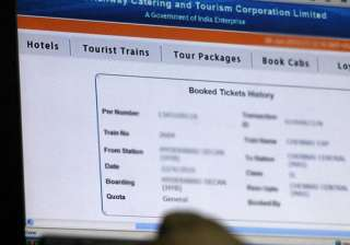 Withdrawal of service charge on e-tickets of...