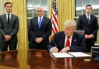 Trump to sign executive order to further tighten...