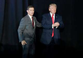 Donald Trump and Michael Flynn - India TV