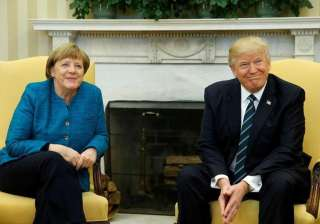 Donald Trump, Amgela Merkel - India TV