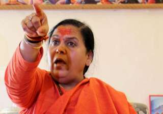 Ready to go to jail for Ayodhya: Uma Bharti...