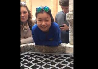 Video of 17-year-old girl singing into well is...