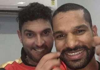 Shikhar Dhawan, Sunrisers Hyderabad, Yuvraj Singh - India TV