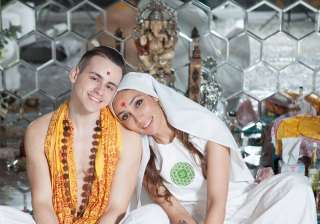 Sofia Hayat gets married at Temple of Awakening,...