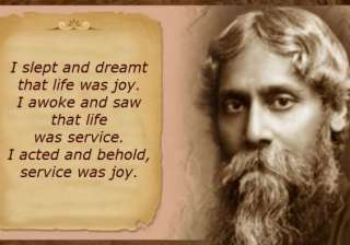 quotes by Rabindranath Tagore - India TV
