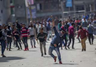 Stone pelters - File Pic - India TV