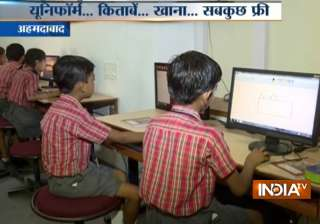 This Ahmedabad school offers free education to...