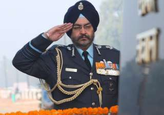 File pic of Air Chief BS Dhanoa - India TV