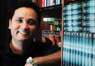 Amish Tripathi launches new book - India TV