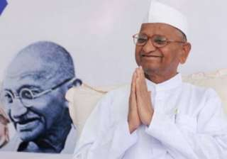 Anna Hazare during IAC movement - India TV