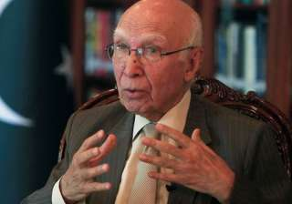 File pic of Sartaj Aziz - India TV