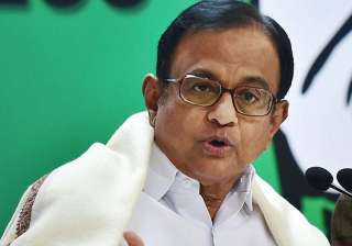 File pic of P Chidambaram - India TV