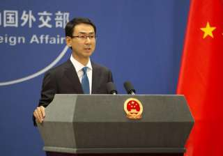 Chinese Foreign Ministry Spokesperson Geng Shuang...