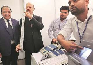 EVM row: Never promised 'no-holds-barred...