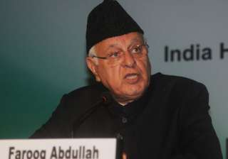 File pic of Farooq Abdullah - India TV