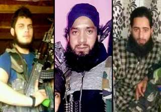 Posters of 3 terrorists involved in killing of...