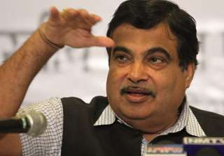 File pic of Union Minister Nitin Gadkari - India...
