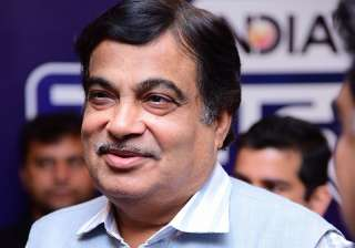 Union Minister Nitin Gadkari at India TV...
