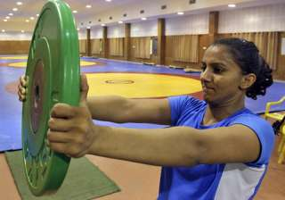 File pic of Geeta Phogat - India TV