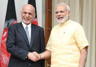 File pic - PM Narendra Modi and Afghan President...