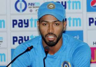 File pic of Hardik Pandya - India TV