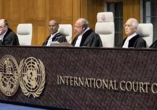 ICJ stays execution of Indian national Kulbhushan...
