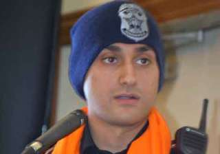 First Sikh-American officer joins Indianapolis...