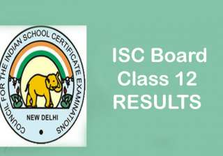 indiatv, ISC, class, isc, iscse, boards, results,