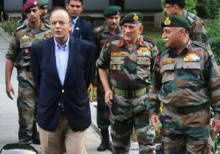 Army Chief Gen Bipin Rawat meets Jaitley, briefs...