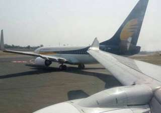Two Jet Airways aircraft collide at IGI, grounded...