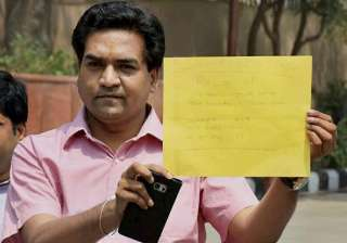 Kapil Mishra to meet CBI today, Assembly session...