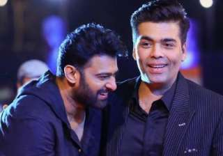 This is why Prabhas won't join Karan Johar's...