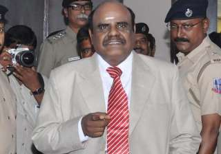 File pic of Justice Karnan - India TV