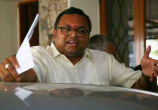 File pic of Karti Chidambaram - India TV