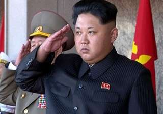 File pic of North Korean leader Kim Jong Un -...