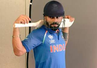 A file image of India captain Virat Kohli. -...