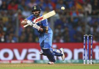 A file image of Virat Kohli in action. - India TV