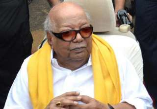 Karunanidhi's 94th birthday will be celebrated in...