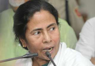 File pic of WB Chief Minister Mamata Banerjee -...
