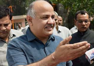 Delhi deputy CM Manish Sisodia - India TV