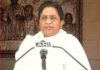 BSP supremo Mayawati - India TV