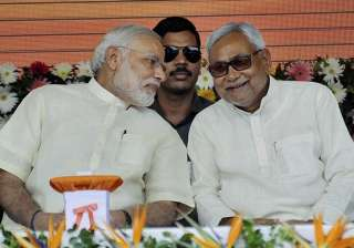 Nitish Kumar parted ways with the NDA opposing...