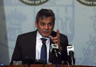 File pic of Foreign Office Spokesperson Nafees...
